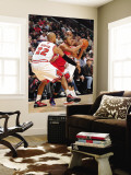 Los Angeles Clippers v Chicago Bulls: Eric Gordon, Taj Gibson and Keith Bogans Wall Mural by Randy Belice