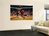 Chicago Bulls v Miami Heat - Game ThreeMiami, FL - MAY 22: Carlos Boozer and Joel Anthony Wall Mural by Marc Serota