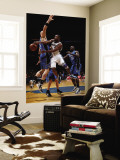 Orlando Magic v Washington Wizards: Gilbert Arenas and Marcin Gortat Wall Mural by Ned Dishman