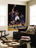 Orlando Magic v Washington Wizards: Gilbert Arenas and Marcin Gortat Wall Mural by Ned Dishman