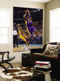 Los Angeles Lakers v New Orleans Hornets, New Orleans, LA - APRIL 22: Kobe Bryant and Jarrett Jack Wall Mural by Layne Murdoch