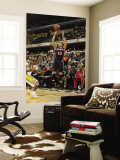 Atlanta Hawks v Indiana Pacers: Mike Bibby Wall Mural by Ron Hoskins