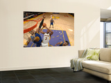 Golden State Warriors v Los Angeles Lakers: Devin Ebanks and Jeff Adrien Wall Mural by Noah Graham