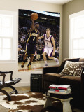 Indiana Pacers v Phoenix Suns: T.J. Ford and Goran Dragic Wall Mural by Christian Petersen