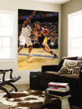 Los Angeles Lakers v Washington Wizards: Luke Walton and Trevor Booker Wall Mural by Andrew Bernstein