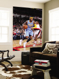 Denver Nuggets v Portland Trail Blazers: Wesley Matthews and Carmelo Anthony Wall Mural by Sam Forencich