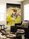 Denver Nuggets v Golden State Warriors: Reggie Williams Wall Mural by Rocky Widner