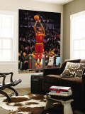 Foot Locker Three-Point Contest, Los Angeles, CA - February 19: Daniel Gibson Wall Mural by Garrett Ellwood