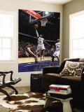 Indiana Pacers v Atlanta Hawks: Damien Wilkins and Mike Dunleavy Wall Mural by Scott Cunningham