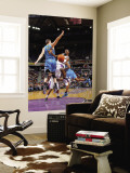 New Orleans Hornets v Sacramento Kings: Tyreke Evans and Jason Smith Wall Mural by Rocky Widner