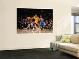New Orleans Hornets v Los Angeles Lakers - Game Two, Los Angeles, CA - April 20: Kobe Bryant and Ch Wall Mural