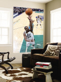 New Orleans Hornets v Utah Jazz: C.J. Miles and David West Wall Mural by Melissa Majchrzak