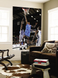 Tulsa 66ers v Texas Legends: Larry Owens Wall Mural by Layne Murdoch