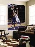 Washington Wizards v New Jersey Nets: Brook Lopez and Javale McGee Wall Mural by David Dow