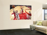 Los Angeles Clippers v Chicago Bulls: Omer Asik Wall Mural by Randy Belice