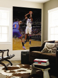 New York Knicks v Sacramento Kings: Carl Landry and Amare Stoudemire Wall Mural by Rocky Widner