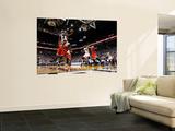 Chicago Bulls v Miami Heat - Game ThreeMiami, FL - MAY 22: LeBron James Wall Mural by Mike Ehrmann
