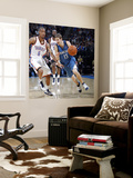 Minnesota Timberwolves v Oklahoma City Thunder: Luke Ridnour and Eric Maynor Wall Mural by Layne Murdoch