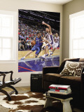 Washington Wizards v New Jersey Nets: Kirk Hinrich and Brook Lopez Wall Mural by David Dow