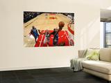 Orlando Magic v Chicago Bulls: Carlos Boozer, Rashard Lewis and Dwight Howard Wall Mural by Gary Dineen