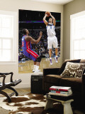 Detroit Pistons v New Orleans Hornets: David Anderson and Greg Monroe Wall Mural by Layne Murdoch