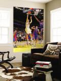 Detroit Pistons v Golden State Warriors: Vladimir Radmanovic Wall Mural by Rocky Widner