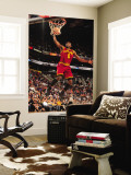 Cleveland Cavaliers  v Phoenix Suns, Phoenix - January 9: Christian Eyenga Wall Mural by Barry Gossage