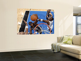 Memphis Grizzlies v Orlando Magic: Zach Randolph, Mickael Pietrus and Marcin Gortat Wall Mural by Fernando Medina