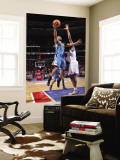 New Orleans Hornets v Philadelphia 76ers: Willie Green and Thaddeus Young Wall Mural by David Dow