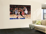 San Antonio Spurs v Los Angeles Clippers: Tony Parker, Baron Davis and Rasual Butler Wall Mural by Noah Graham