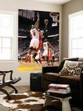 Chicago Bulls v Miami Heat - Game ThreeMiami, FL - MAY 22: Carlos Boozer and LeBron James Wall Mural by Mike Ehrmann