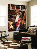 Sacramento Kings v Miami Heat, Miami - February 22: LeBron James Wall Mural by Issac Baldizon