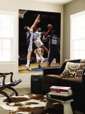 Memphis Grizzlies v Washington Wizards: Trevor Booker and Marc Gasol Wall Mural by Ned Dishman
