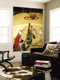 Boston Celtics v Toronto Raptors: Ray Allen and Reggie Evans Wall Mural by Ron Turenne