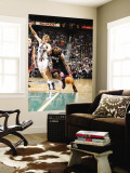 Miami Heat v Utah Jazz: LeBron James and Andrei Kirilenko Wall Mural by Melissa Majchrzak