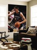 Detroit Pistons v Minnesota Timberwolves: Darko Milicic and Greg Monroe Wall Mural by David Sherman