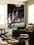 Milwaukee Bucks v Utah Jazz: Brandon Jennings and Earl Watson Wall Mural by Melissa Majchrzak