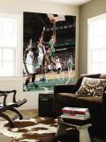 Milwaukee Bucks v Utah Jazz: Brandon Jennings and Earl Watson Wall Mural by Melissa Majchrzak
