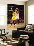 Indiana Pacers v Chicago Bulls - Game Five, Chicago, IL- April 26: Derrick Rose and Paul George Wall Mural