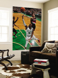 Portland Trail Blazers v Boston Celtics: Rajon Rondo Wall Mural by Brian Babineau