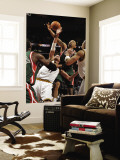 Milwaukee Bucks v Cleveland Cavaliers: Anderson Varejao and Drew Gooden Wall Mural by David Liam Kyle