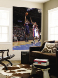 Atlanta Hawks v Detroit Pistons: Al Horford and Charlie Villanueva Wall Mural by Allen Einstein