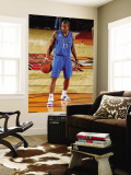 Texas Legends v Idaho Stampede: Antonio Daniels Wall Mural by Otto Kitsinger