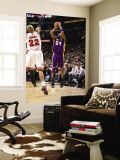 Los Angeles Lakers v Chicago Bulls: Kobe Bryant and Taj Gibson Wall Mural by Andrew Bernstein
