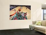 New Jersey Nets v Utah Jazz: Andrei Kirilenko Wall Mural by Melissa Majchrzak