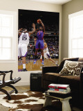 New York Knicks v Sacramento Kings: Amare Stoudemire and DeMarcus Cousins Wall Mural by Rocky Widner
