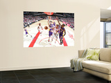 Los Angeles Lakers v Houston Rockets: Chase Budinger and Matt Branes Wall Mural by Bill Baptist