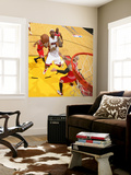 Chicago Bulls v Miami Heat - Game ThreeMiami, FL - MAY 22: LeBron James, Carlos Boozer Wall Mural by Victor Baldizon