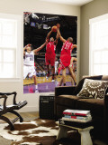 Houston Rockets v Sacramento Kings: Kyle Lowry and Francisco Garcia Wall Mural by Rocky Widner