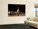 Boston Celtics v New York Knicks: Toney Douglas and Nate Robinson Wall Mural by Lou Capozzola